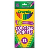 Crayola Long Barril Lápices De Colores, Colores Surtidos,