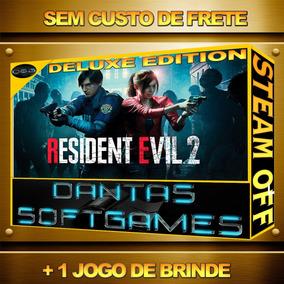 Resident Evil 2 Deluxe Remake Pc Steam + 1 Jogo Ative Hoje
