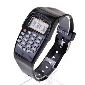 bf6d3c22c61 Relógio Calculadora Digital Unissex Presente - Relógios no Mercado ...