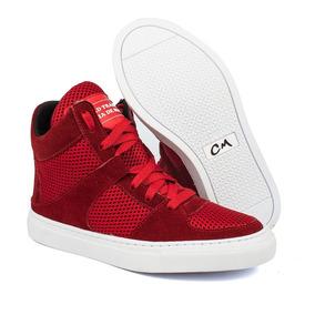 Tênis Masculino Sneaker Estilo Basquete Lançamento