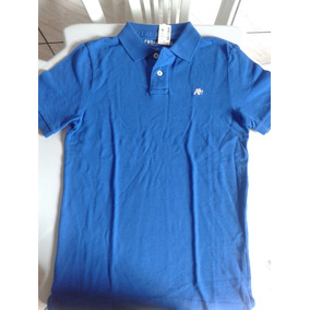 Camisa Gola Polo Aeropostale Azul - Calçados 515a8d2ba055c