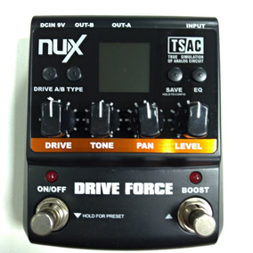 Pedal P/ Guitarra Nux Drive Force Distortion Usado