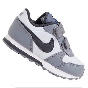 a000b19175 Tênis Nike Infantil Md Runner Cinza 806255015 Original