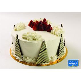 Torta Gateau Frutilla Porto Vanila De 10 A 12 Porc. (6880)