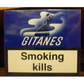 5 Box Cigarrillos Gitanes De 20 Lleno Sin Filtro Importado