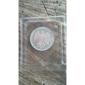 Ludwig Van Beethoven Moeda Prata 5 Mark