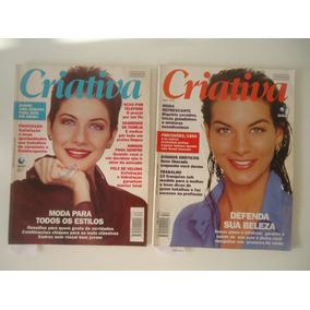 Lote De 2 Revistas Criativa Antigas Com Defeitos