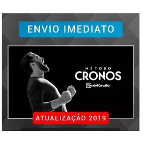 Método Cronos 2019 (10 Módulos) - Wendell Carvalho (barato)r