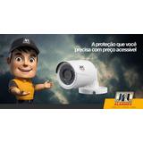 Câmera De Segurança Bullet Jfl Hd 720p Infra 30mts 3,6mm