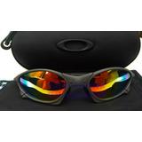 Oculos Penny Xmetal Cinza Fosco Lente Arco Iris +case Rigido 54efb4fc24