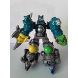Gashapones Power Rangers
