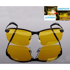 1f893944d6f1d Óculos Sol Pesca Dirigir À Noite Polarizado Âmbar Uv400
