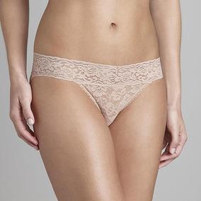 Panty Marca Metaphor Modelo Floral Lace - Beige T - Xl