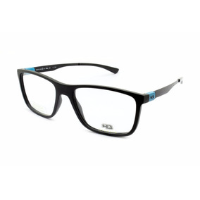 Armação Masculina Oculos Para Grau Hb Matte Black Armacoes - Óculos ... 82bfda6d8a