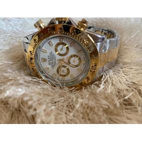 f31f4283eed Relogio Rolex Daytona Prateado C - Relógios no Mercado Livre Brasil