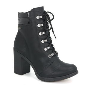 Promoção Bota Ankle Boot Coturno Feminino Dakota B9572