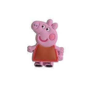 Puxador Infantil Pepa Pig Italy Line Il5524 Pvc ( 4 Peças )