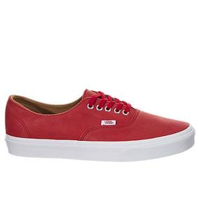 Tenis Zapatillas Vans Authentic Decon Rojo Hombre Originales be3f59b5fca