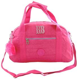 Sacola Bolsa G Viagem Rebecca Bonbon Crinkle Color Rb8169