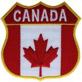 Escudo De Canadá Parche 2.75 Pulgadas Ivan1349