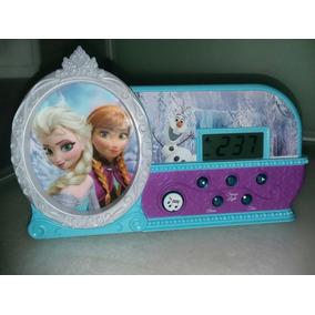 Reloj Despertador Alarma Disney Frozen Princesas