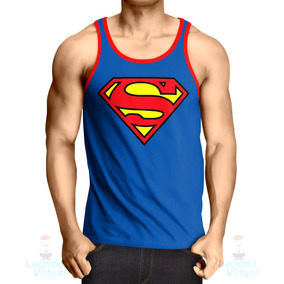 Camisa, Camiseta Regata Superman Logo