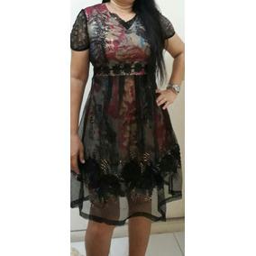 Vestido Moda Evangélica Gospel Feminina
