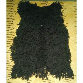 Chaleco Negro Con Flecos - Ropa y Accesorios en Mercado Libre Argentina 8c65a9327deb