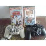 2 Juegos De Psp Y Controles De Play 1 Y 2
