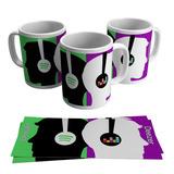 Caneca Deezer Música Premium Porcelana Divertida