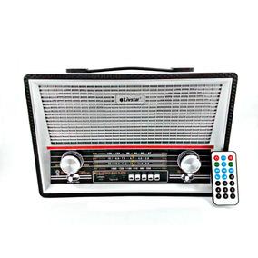 Rádio Antigo Edição Retrô Mp3 Portátil Novo Bluetooth C2068