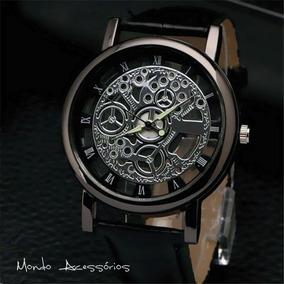bf99b038d89 Relógio Engrenagem A Mostra Masculino - Relógios De Pulso no Mercado ...