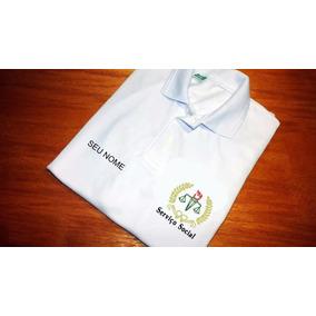 3e36628f61 Camiseta Servico Social Preta - Camisetas e Blusas no Mercado Livre ...