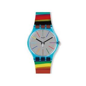 ccc4ec1f9dd Relógio Swatch Feminino Colorido - Relógios De Pulso no Mercado ...