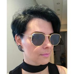 Óculos Feminino Hexagonal Verão 2019 Moda Blogueira Barato 81092b23a3