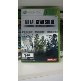 Jogo Do Xbox 360: Metal Gear Solid Hd Collection. Fretgrátis