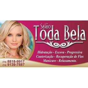 Placa Para Salão De Beleza - Tam50x65cm