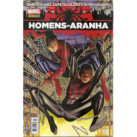 Homens-aranha Vol. 1 Os Heróis Espetaculares De Dois Mundos