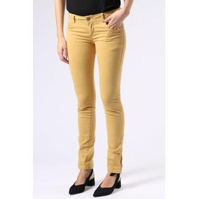 Calça Jeans Versatti Mostarda
