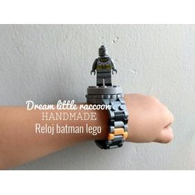 Reloj Batman Compatible Lego
