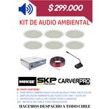 Kit De Audio Ambiental.