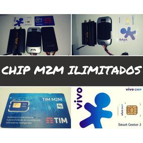 Chip M2m Telemetria Tim Ou Vivo+plataforma+app Ilimitado