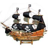 Navio Barco Pirata Caravela Santa Maria Decorativo 33cm