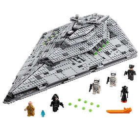 Lego Star Wars Star Destroyer First Order 1585pcs Compatível