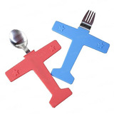 Sablue Creative Childrens Dinnerware Feeding Airplane Spoon