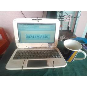Laptop Hp C-a-n-a-i-m-a Letras Rojas Ultraplana