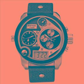 Relógio Weide Wh-2305 Oversized Preto