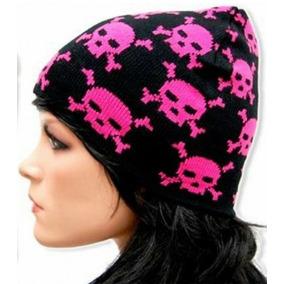 Touca Gorro Caveiras Skull Fashion Tribo Do Rock 48f6d96ca7e