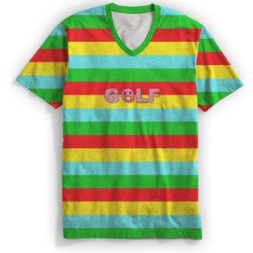56b5dbd4455f7e Camiseta Gola V Rap Tyler The Creator Odd Future Retro Mt