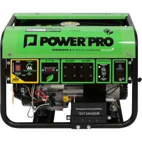 Generador Monofasico Gas/gasolina - Dg3000 - Power Pro